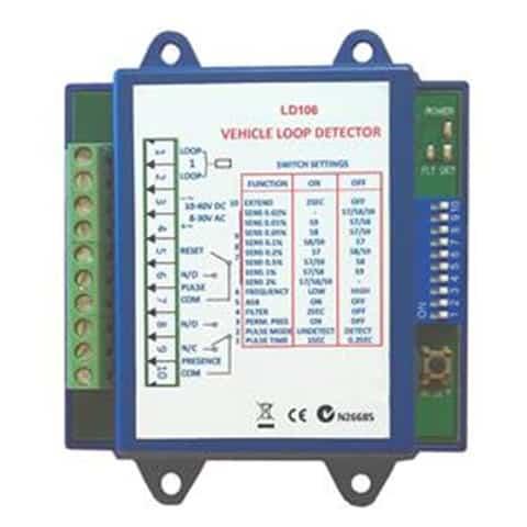 SafePass LD106 Ultra Low Power Loop Detector